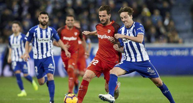 نتيجة مباراة اشبيلية وديبورتيفو ألافيس بتاريخ 15-09-2019 الدوري الاسباني