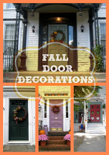 Fall Door Decorations Wreaths