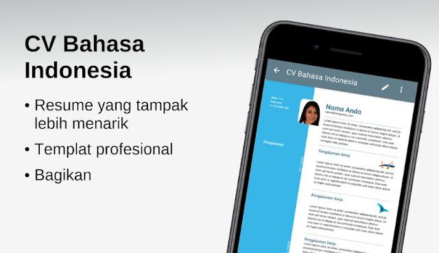 Aplikasi Membuat CV Kreatif