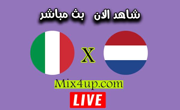 نتيجة مباراة ايطاليا وهولندا اليوم 14-10-2020 دوري الأمم الأوروبية