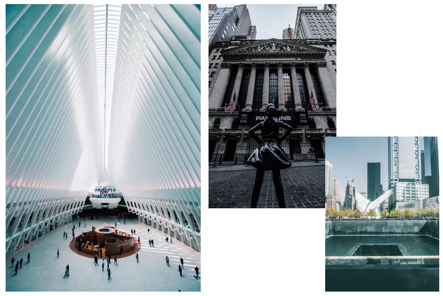 financial district New York