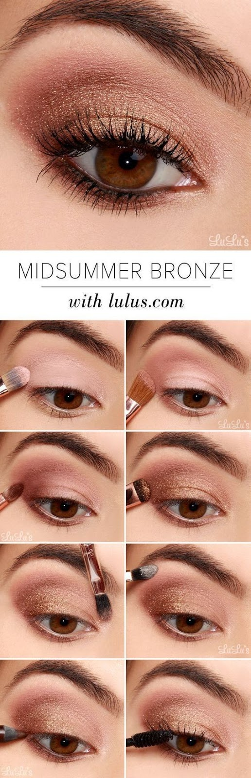 20 Easy Step By Step Eyeshadow Tutorials for Beginners
