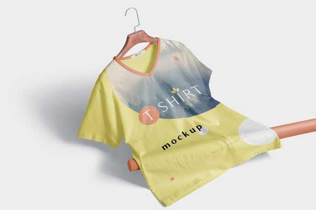 Premium Quality T-shirt Mockup Scenes