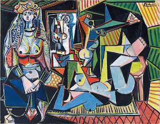 Pablo Picasso's Women of Algiers, created in 1955. Version 'O', sold for 179.3 million dollars as most expensive painting.