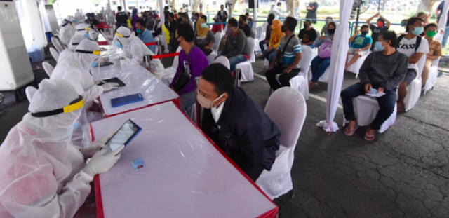 Innalillahi, 101.532 Warga Surabaya Rapid Test, Segini yang Positif Covid-19