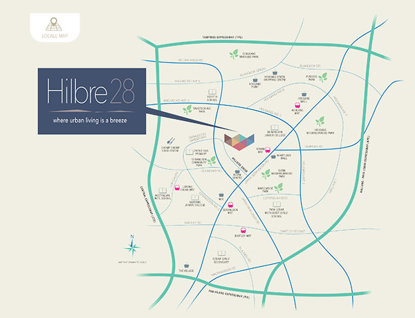 Hilbre 28 Location Map