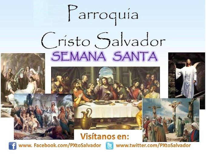 Wallpaper de Semana Santa para Parroquia Cristo Salvador