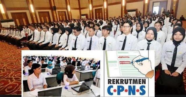 Pendaftaran seleksi calon pegawai negeri sipil (CPNS) 2019 Telah Dibuka