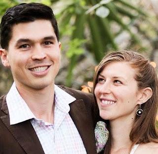 Colin Christy with his wife Deborah Jennifer Stern