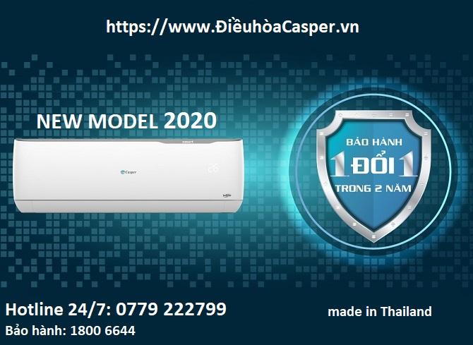 bao hanh may lanh casper 2020