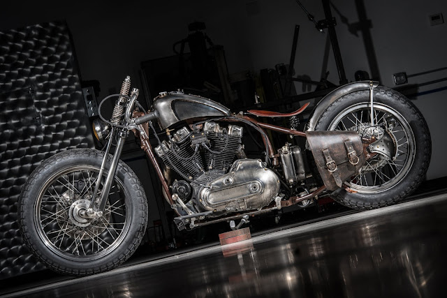 Harley Davidson Ironhead 1972 By Bull Cycles Hell Kustom