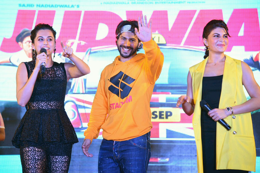 'Judwaa 2' Promotional Event Stills In Delhi