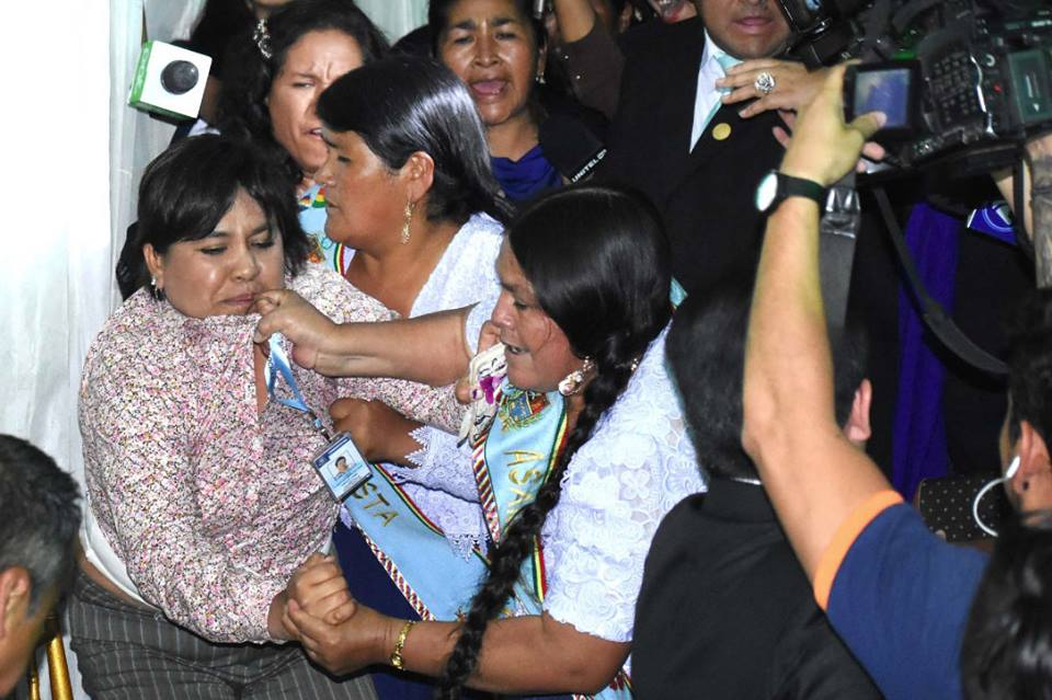 Asambleístas cochabambinas se enfrentaron por el tema reelección / DIARIO OPINIÓN