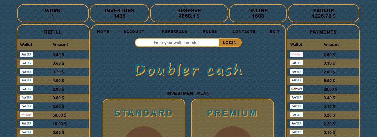 Мошеннический сайт doubler.cash – Отзывы, развод, платит или лохотрон?
