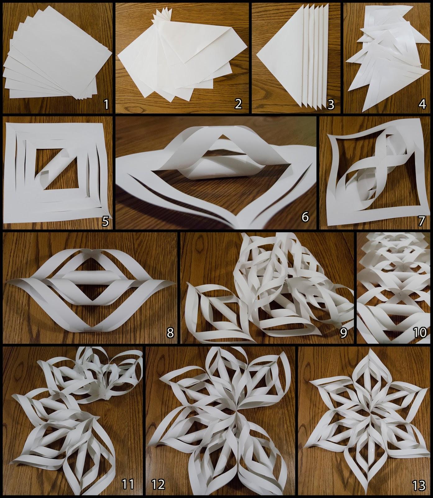 Extreem Lienepien: Kerstster van papier &FE84
