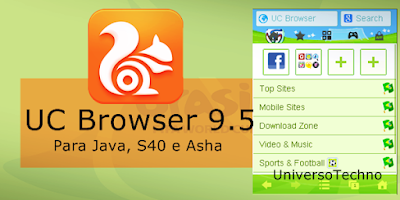 Tải Uc browser 9 5 cho Android, java, ios