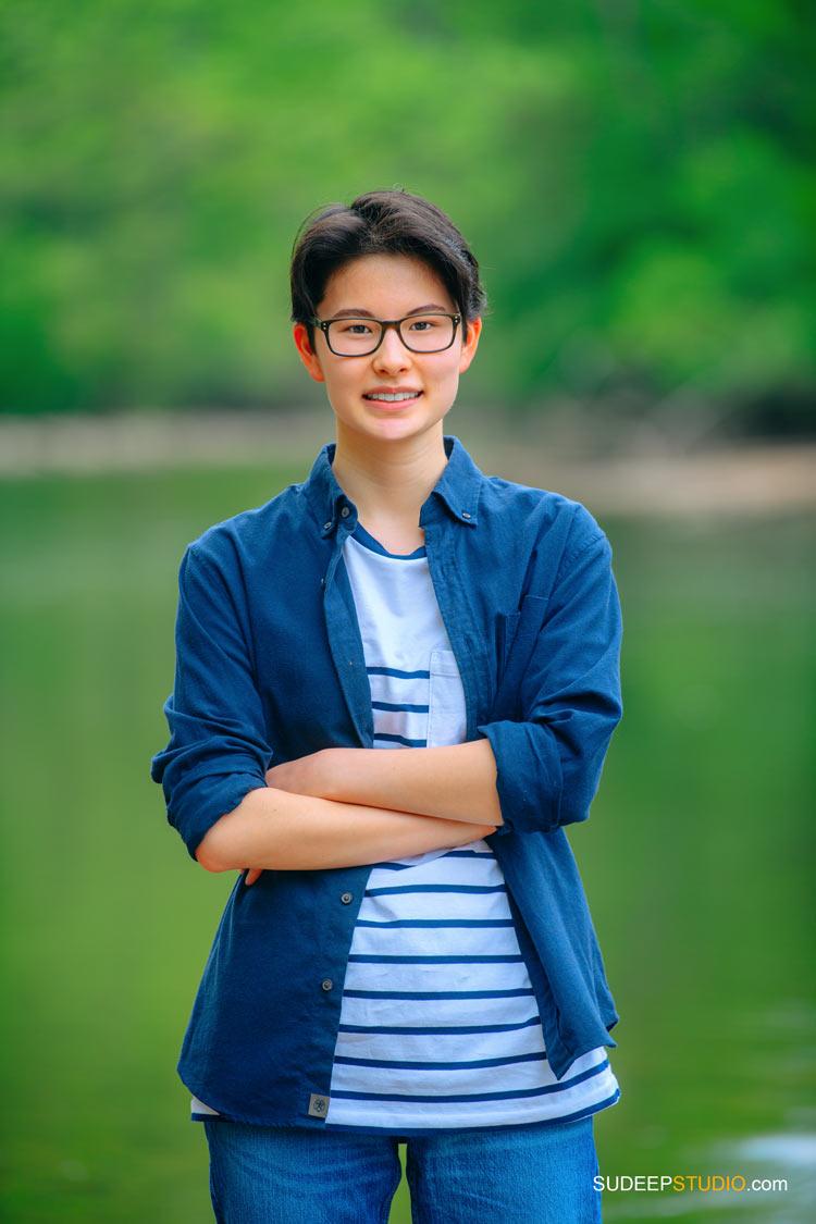 Ann Arbor Senior Picture Photographer SudeepStudio.com for Nature Senior Portrait for Girls Pioneer High
