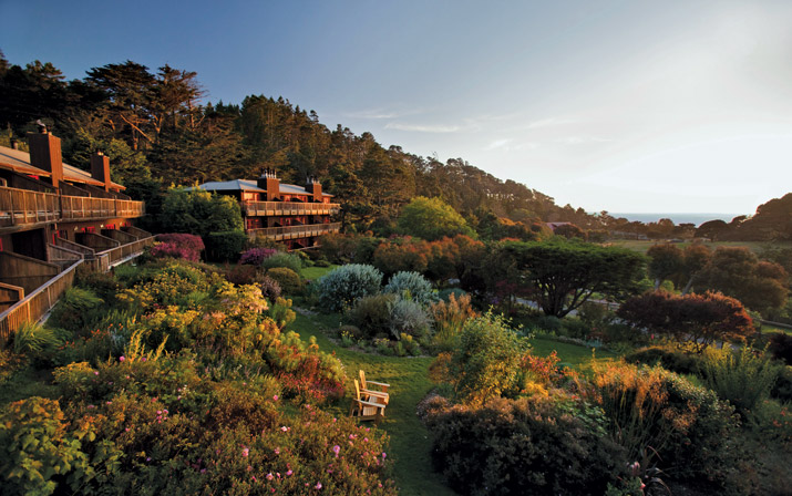 Stanford Inn and Resort in Mendocino, California