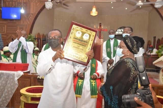 Onuigbo Bags Legislative Excellence Award