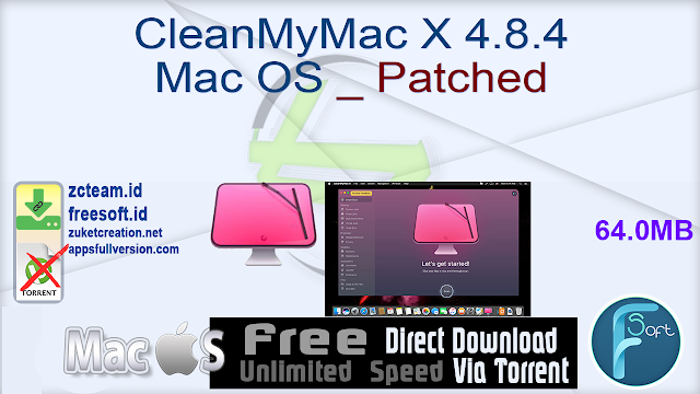 CleanMyMac X 4.8.4 Mac OS _ Patched_ ZcTeam.id