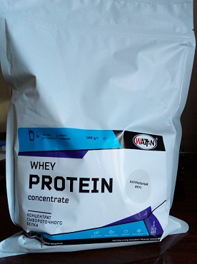 Обзор Whey Protein Concentrate от WATT-N, Lactomin-80.