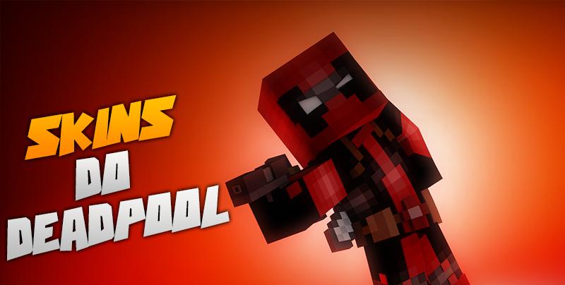 Occy Craft Skins Do DeadPool - Deadpool skins fur minecraft