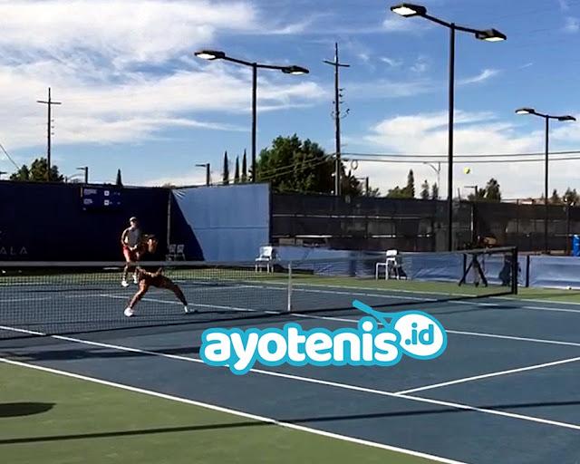 Debut Perdana Aldila di Turnamen WTA  500, Paksa Lawan Bertarung Tiga Set !