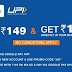 (New Users) Gpay Free Recharge for Rs.149 for Jio