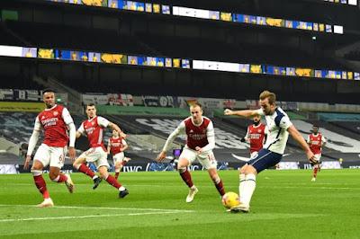 ملخص واهداف مباراة توتنهام وارسنال (2-0) الدوري الانجليزي