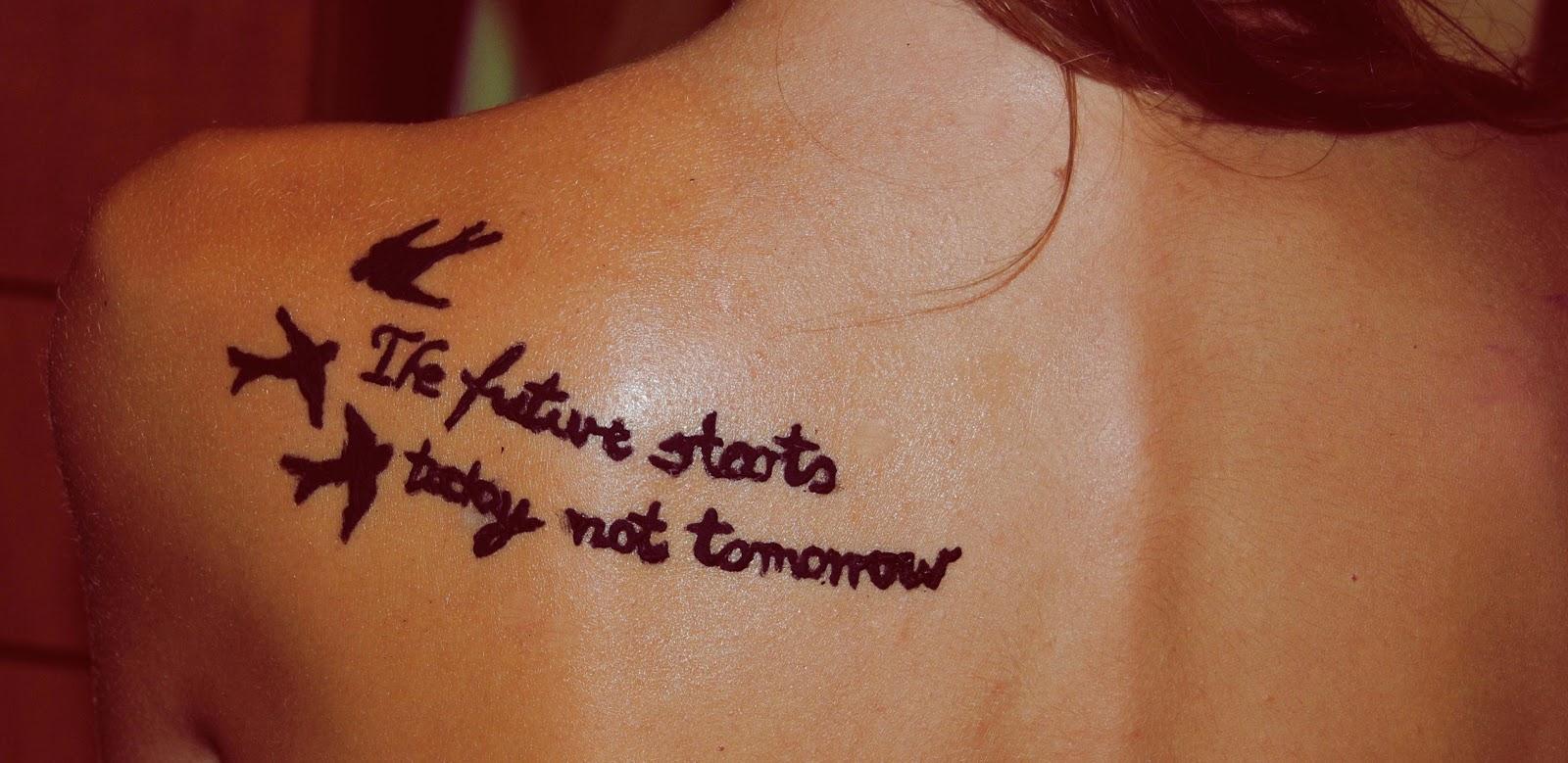 Divoces Tatuaż Z Henny Krok Po Kroku