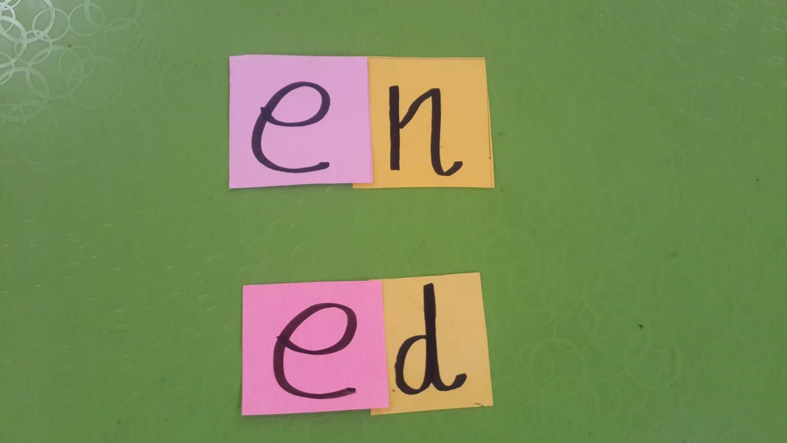 Two Letter Words E Vowel Khms Pre Primary Stellar