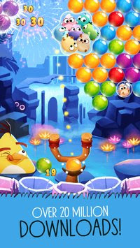 Angry Birds POP Bubble Shooter Apk v2.20.0 Mod (Gold/Lives)