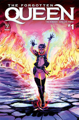 Un vistazo a The Forgotten Queen de Valiant Comics