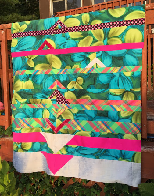 Horizon Quilt Pattern by Luna Lovequilts - Version made by Eunice