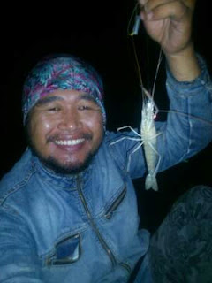 Mancing udang disungai Porong Sidoarjo