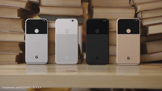 3 days to go and Here are new Pixel and Pixel XL renders
