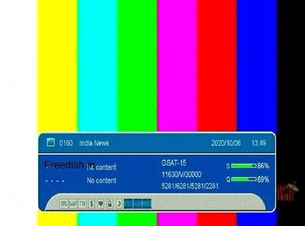 इंडिया न्यूज़ हिंदी समाचार चैनल ने डीडी फ्रीडिश छोड़ा