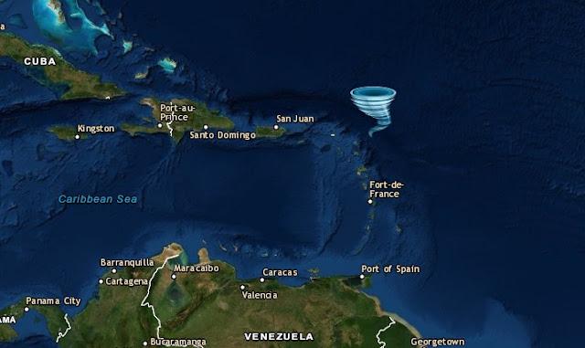 En el Atlántico se forma la tormenta Sebastian