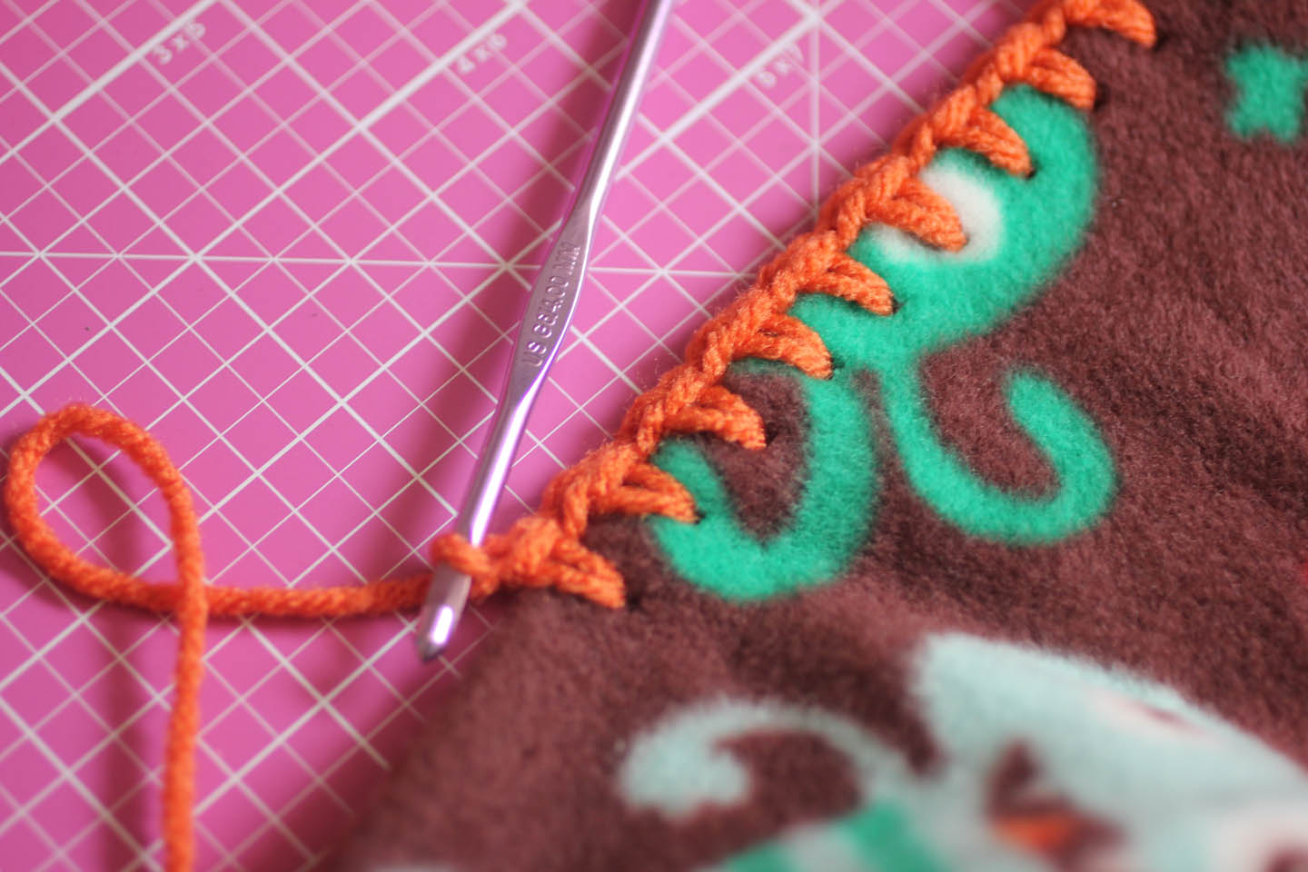 Monster Fleece Lovey Blankets Repeat Crafter Me