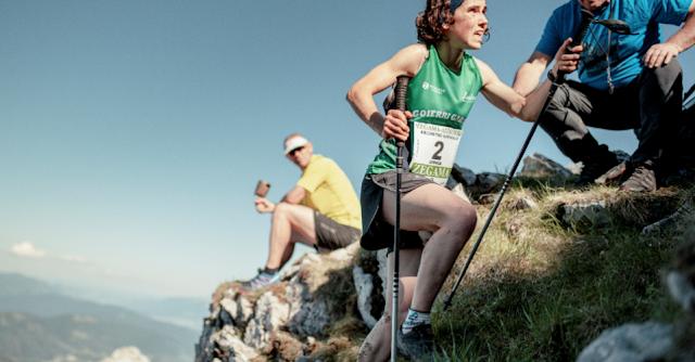 Ainhoa Sanz y Oriol Cardona se hacen con la victoria en el Kilómetro Vertical de Zegama