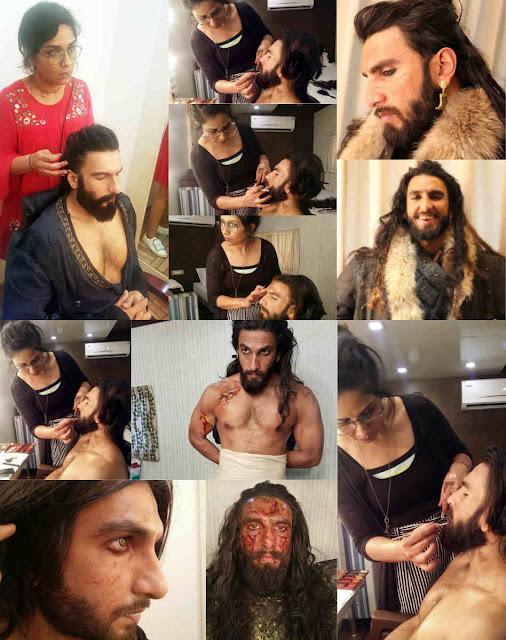 cinemawallah-newztabloid-ranveer-preetisheel-prosthetic-padmaavat-alauddin-khilji-makeup