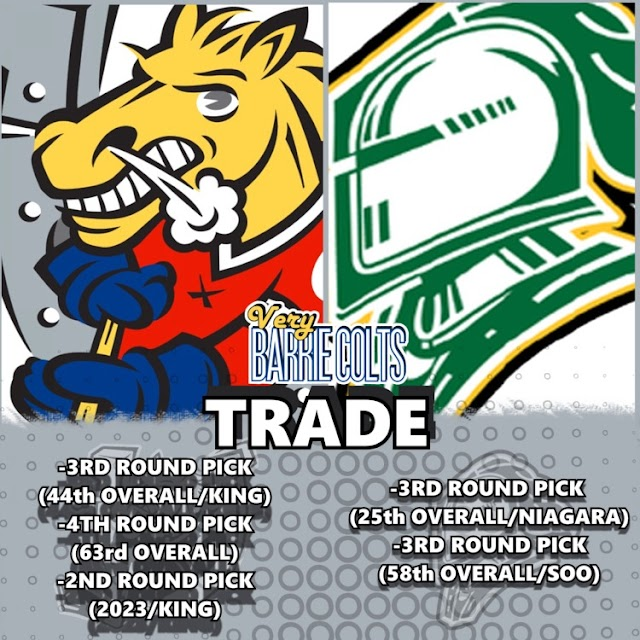 TRADE: Colts Swap Picks with Knights.