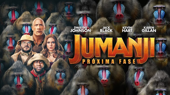 Jumanji: Próxima Fase já disponível nas plataformas digitais