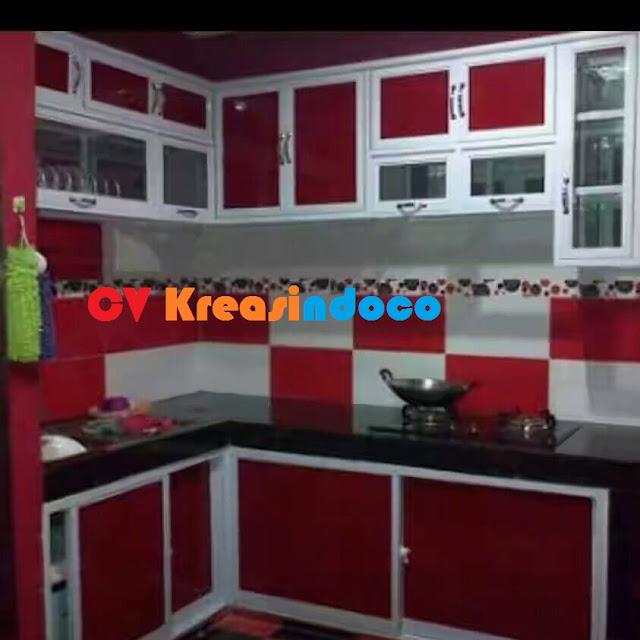 Kitchen Set Aluminium ACP