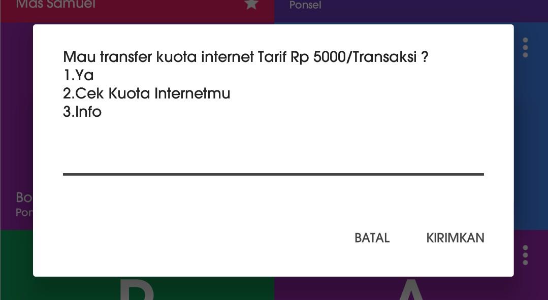 Cara transfer paket data telkomsel ke teman tanpa ribet 1