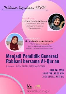 Keputrian IKPM: Menjadi Pendidik Bersama Al-Qur'an