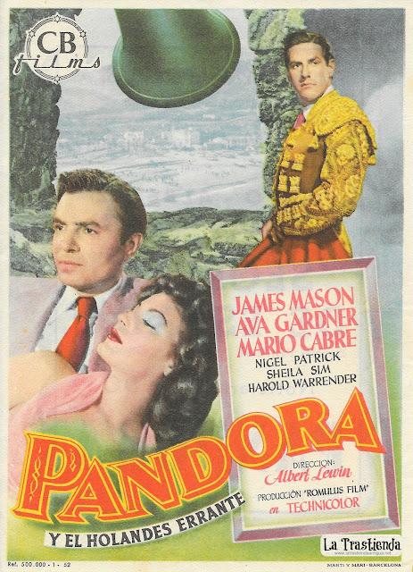 Pandora y el Holandés Errante - Programa de Cine - Ava Gardner - James Mason