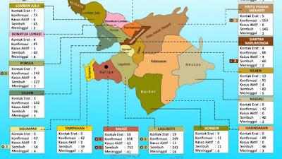 Ada 5 Kecamatan di Kabupaten Toba Nihil Kasus Aktif Covid-19