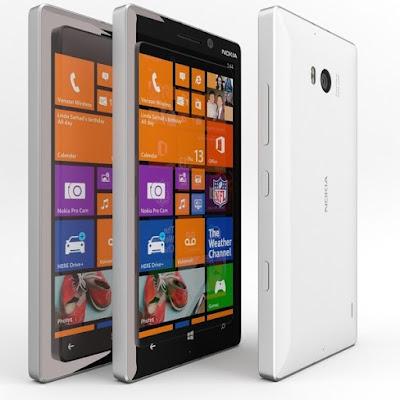 Huong dan cach thay man hinh Nokia 930