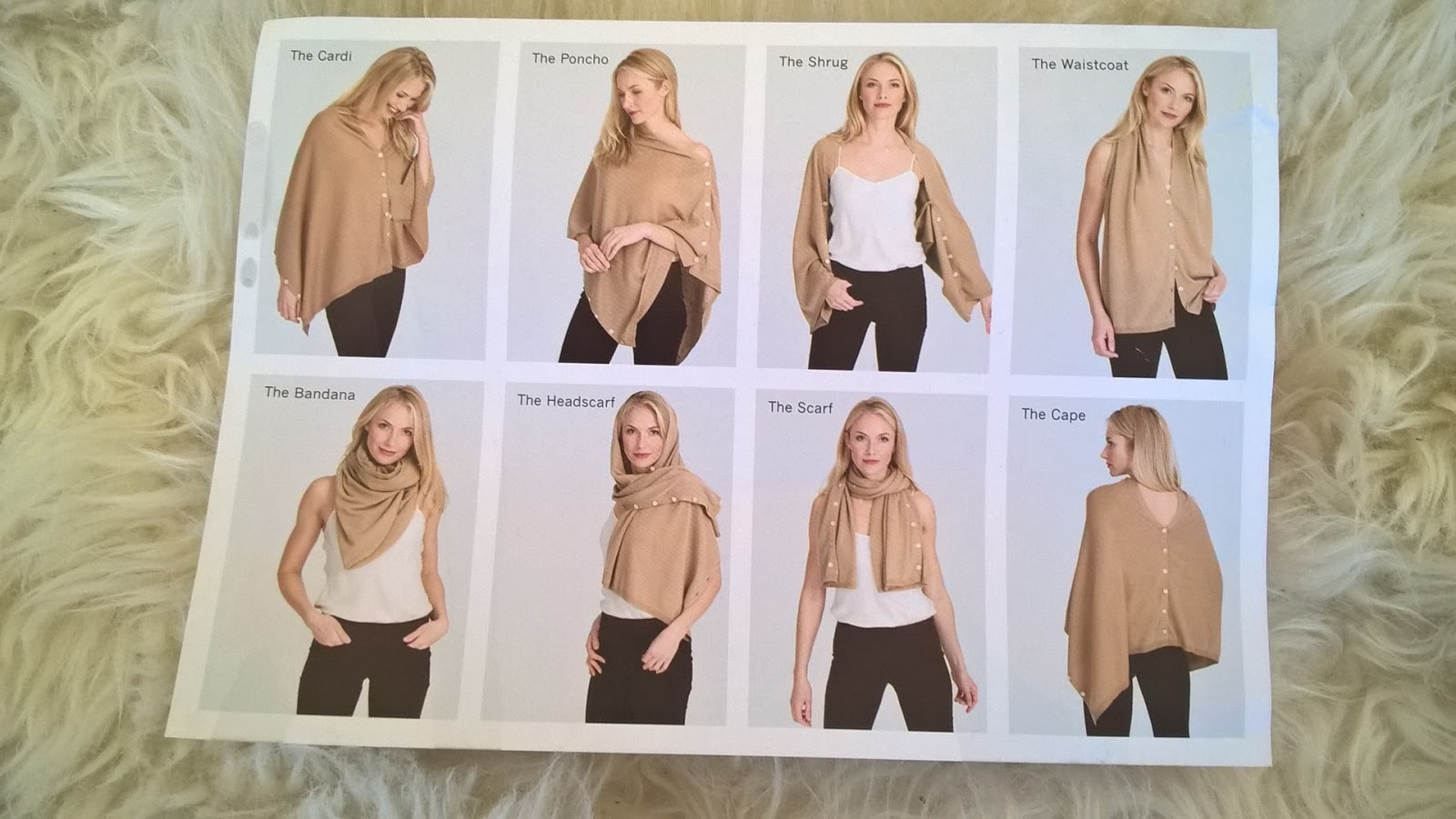 8 ways to wear Wool Overs Buttoned Poncho & Shrug - Fashion - Knitwear - motherdistracted.co.uk